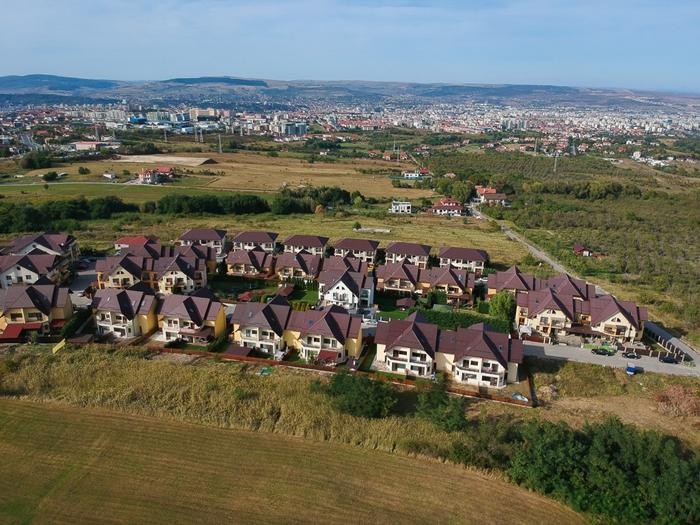 Az RMDSZ-elnök háza Kolozsvár egyik új lakóparkjában áll. Fotó: Egyed Ufó Zoltán