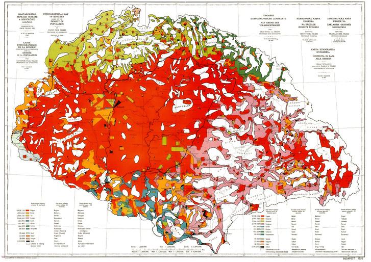 Nagy Magyarország térképe 1920