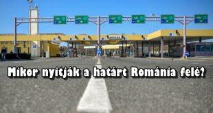 határátkelő Románia és Magyarország között - Ártánd