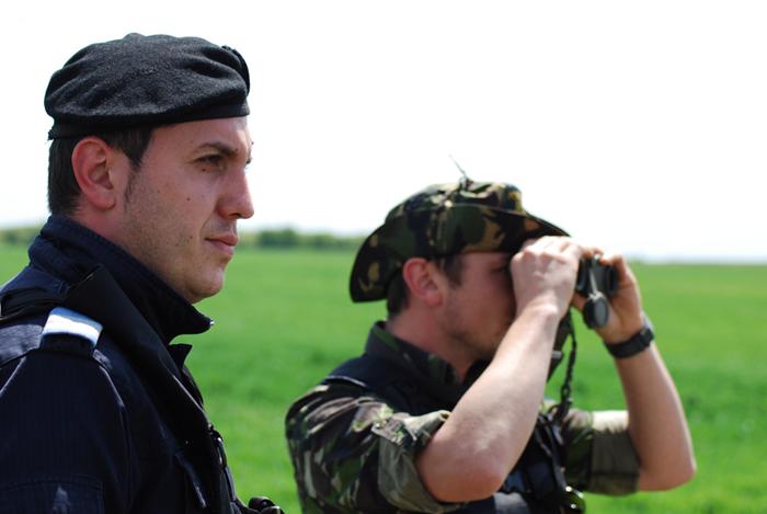 Román határőrök