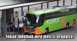 Vendégmunkásokat visz a busz nyugatra