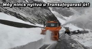 Mikor nyitják meg a Transzfogarasi utat?