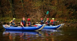Rafting a Sebes-Körösön
