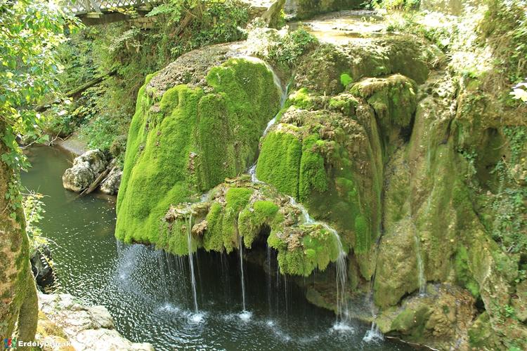 A Bigéri-vízesés egykori pompájában