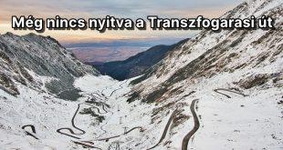 Még nem járható a Transzfogarasi út